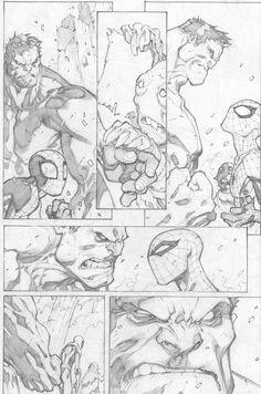 Joe Madureira ! Fansite: Avenging Spider-Man #2 Preview Pages