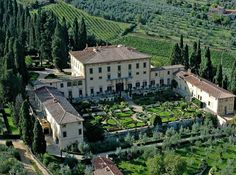 I 122 Grandi Giardini Italiani da vedere almeno una volta nella vita. Villa Poggio Torselli - S. Casciano Val di Pesa - Italia
