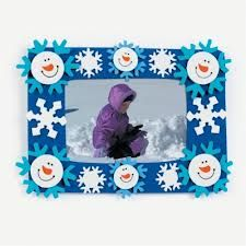 Smile Face Snowman Picture Frame Magnet - Crafts for Kids and Fun Home Activities Snowman Photos, Snowmen Pictures, Snowman Faces, Sock Snowman Craft, Snowman Crafts, Christmas Crafts, Christmas Ideas, Olaf Snowman, Snowman Party