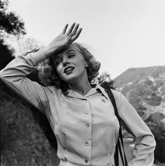 Marilyn photographed by Ed Clark, 1950. - LIFE