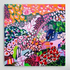 "(@aliciabeech.art.nz) ""Foxglove Jazz - Sold, Bloom Exhibition, @jumbledonline"" Jazz, Abstract Art, Bloom, Artist, Painting, Painting Art, Paintings, Painted Canvas, Drawings"