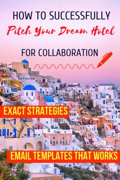Get an exclusive database of over 200 hotels that work with bloggers + a detailed blogger's guide how to pitch hotels for collaborations. This guide is for travel bloggers, influencers and other bloggers who travel and are looking to work with hotels to get sponsored travel & complimentary hotel stays. Learn how to find the right hotels and get our email templates. #blogging #travelblogger Travel Jobs, Travel Advice, Email Templates, Best Blogs, Blogging For Beginners, Make Money Blogging, Blog Tips, Pitch, Social Media Marketing