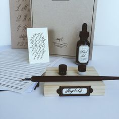 Maybelle Creativebug Class Calligraphy Kit SHIP by inkandbelle