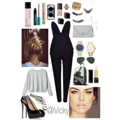 Set on polyvore.com #7 Celeberity flight
