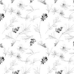 pine drawing pattern