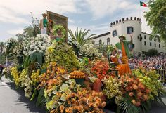 Madeira Island Flower Festival Portugal