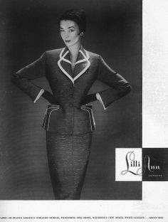 Lilli Ann July Harper's Bazaar 1953