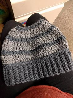 """It has been quite some time since I have used this blog, but this """"bun hat"""" craze has me needing to use it again. My version of the bun hat..."""