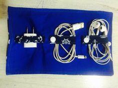 Organizadores cabos e fios