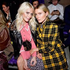 #PFW #PoppyDelevingne  #DreeHemingway in prima fila da #MiuMiu  #MiuMiuFW17 #frontrow  #MCSfilate  via MARIE CLAIRE ITALIA MAGAZINE OFFICIAL INSTAGRAM - Celebrity  Fashion  Haute Couture  Advertising  Culture  Beauty  Editorial Photography  Magazine Covers  Supermodels  Runway Models