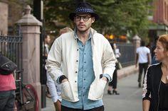 New York Fashion Week 2013 streetstyle Men