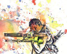 Walking Dead Rick Grimes Poster Print From Original by idillard