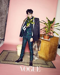 Lee Seung Gi for Vogue Korea January 2015 Issue