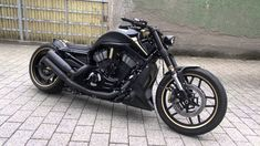 Harley Davidson Dubai GT black, Night Rod Special, Airride, Custombike, HD