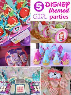 Girl Disney Party ideas- uh-dorable.