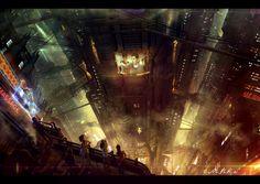 Tower of sin by Vladimir Manyukhin