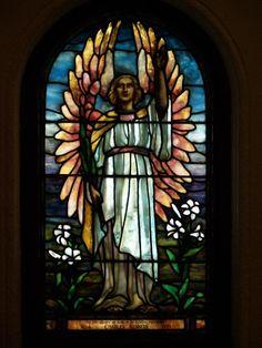 Description: Buffalo, New York (NY): Episcopal Church of the Good Shepherd: Resurrection (1926, Haskins Glass Studios)