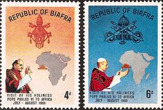 biafra war and pope paul VI - Pesquisa Google