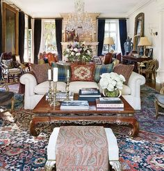 Architectural Digest's cover story on the private world of an American design icon--Ralph Lauren (it's the 30th anniversary of his groundbreaking home collection)