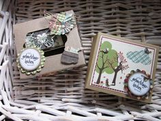 #stampin up - Geburtstagskuchenbausatz - Herbst - Verpackung