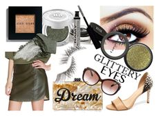Dream by sherrykaydesigns on Polyvore featuring beauty, Bobbi Brown Cosmetics, Beauty Is Life, Givenchy, Urban Decay, Gorgeous Cosmetics, Louis Vuitton, Edie Parker, makeup and glitter