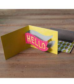 Hello Pop Up Card