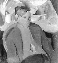 Boy, Provincetown, One Button Off, 1916 (68) | Edwin Dickinson, 1891–1978
