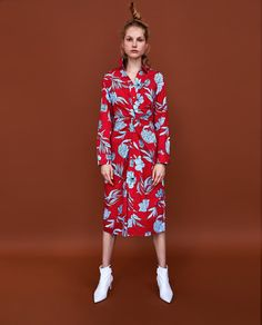 Image 1 of PRINTED TUNIC from Zara
