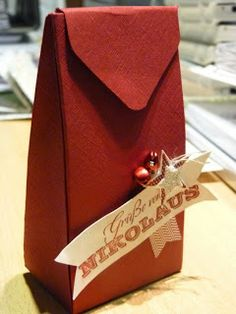 treat bag tutorial with envelope punch board