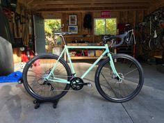 New bike day for imandrewcohen with a mint Surly Straggler