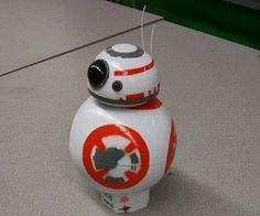 3D Printed Remote Controlled BB8 Droid - Make Course