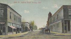 VAN WERT COUNTY - Ohio Genealogy Trails - Main Street, Convoy, Ohio
