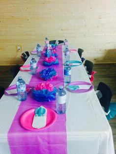 Frozen table ideas