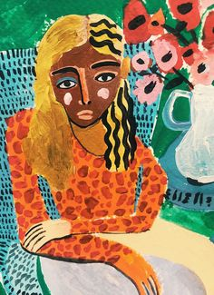 Mexico City based artist Ana Leovy is disrupting beauty stereotypes with her portrayal of strong, confident women in her paintings. Empowerment by way of imperfections is exactly why I'm currently crushing on Ana's art. Surface Art, Abstract Watercolor Art, Arte Sketchbook, Art Folder, Indie Art, Weird Art, Illustration Sketches, Art Portfolio, Pretty Art