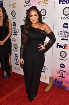 19c77c66092 Adrienne Houghton - 2018 NAACP Image Awards Non-Televised Award Show  Adrienne Bailon