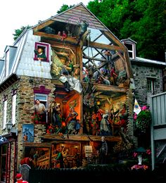 Not exactly a place of solitude, but, nevertheless, one of the most amazing murals ever.