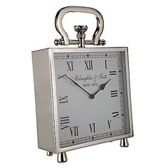Buy Square Table Clock Online at johnlewis.com