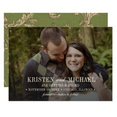 Save the Date. Custom Wedding Photo Cards  $2.01  by YourWeddingDay  - cyo customize personalize unique diy idea