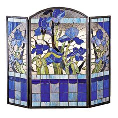 Buy the Meyda Tiffany 48103 Tiffany Glass Direct. Shop for the Meyda Tiffany 48103 Tiffany Glass Stained Glass / Tiffany Fireplace Screen from the Floral Elegance Collection and save.