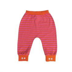 UBANG orange/magenta babybukser www.ansos.dk