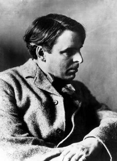 Irish poet William Butler Yeats, (1865-1939), c. 1908.