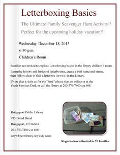 Join us on December 18 for this fun family event!