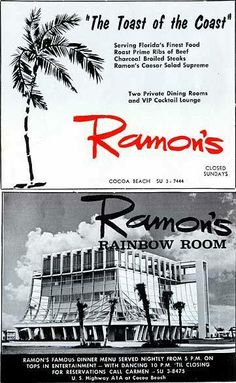 Ramon's Rainbow room on top of the Glass Bank. The building is gone now.