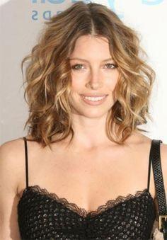 Medium Length Haircuts For Curly Hair
