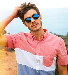 American Eagle Outfitters   #aeo #ae #americaneagle #americaneagleoutfitters #mensfashion #mensstyle #menswear #men #fashion #fashionmale #gq #gqfashion #colorblockshirt