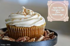 Apple Spice Cupcakes with Cider Buttercream | Kailley's Kitchen