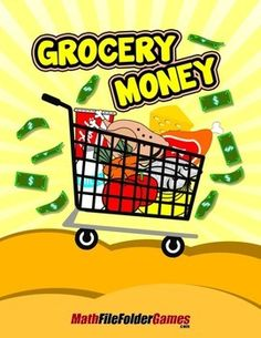 Grocery MoneyIts time to use rounding and mental math at the grocery store. Tell each student that they have $100 to spend. Youre now going to tell them exactly what they are spending as you walk aisle by aisle in the grocery store...Get the complete Focus On Mental Math BUNDLE of 25 mental math games and save!
