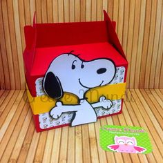 Caixinha Lancheira Snoopy