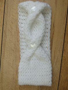 Fashionably Twisted Knit Headband | AllFreeKnitting.com