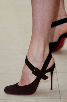 Cute, but it's the heels that worry me. They could break in a snap. I say avoid those unless you wanna get hurt. No offense to heel wearers